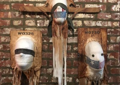 Torture Mask Triptych